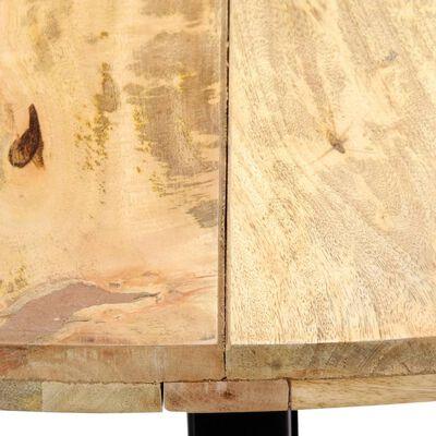 vidaXL Eettafel 120x73 cm massief mangohout