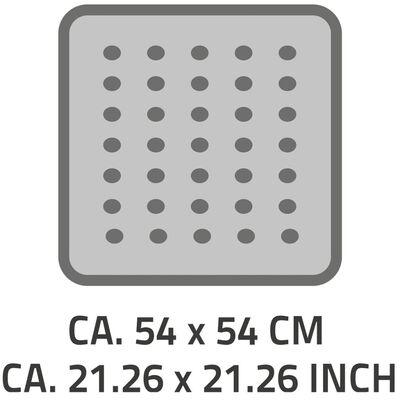 RIDDER Douchemat anti-slip Playa 54x54 cm zwart 68410