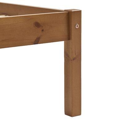 vidaXL Bedframe met 4 lades massief grenenhout honingbruin 160x200 cm