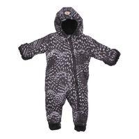 Lodger Baby winterpak Skier - zwart - 3-6 maanden - maat 68