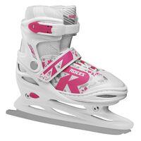 Roces ijshockeyschaatsen Jokey 2.0 meisjes wit maat 34-37