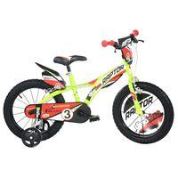 Dino Bikes Kinderfiets Raptor 14 fluorescerend geel