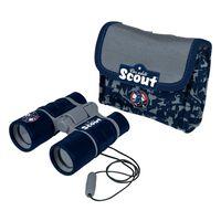 Scout Kinderverrekijker met heuptas neopreen blauw