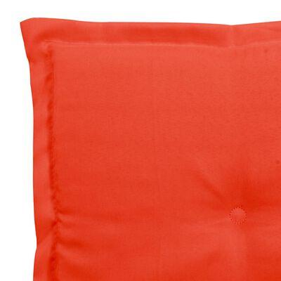 vidaXL Tuinstoelkussens 4 st 40x40x3 cm rood