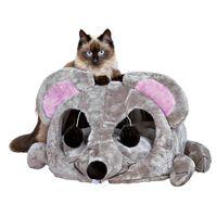 TRIXIE Kattengrot Junior Lukas lichtgrijs