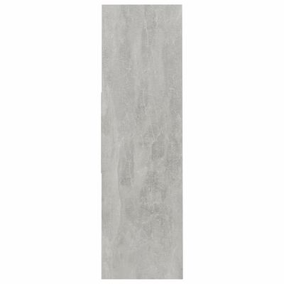 vidaXL Boekenkast 97,5x29,5x100 cm spaanplaat betongrijs