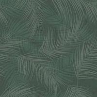 DUTCH WALLCOVERINGS Behang Palm groen