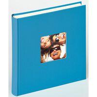 Walther Design Fotoalbum Fun 100 pagina's 30x30 cm oceaanblauw