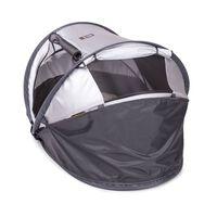 DERYAN Windscherm Toddler Luxe 110x35x0,5 cm grijs