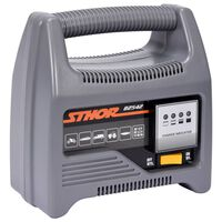 Sthor Acculader met LED 12 V 6 A 90 Ah