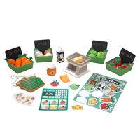 KidKraft 34-delige Boerenmarkt speelset