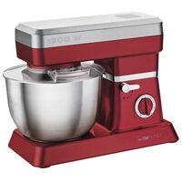 Clatronic Keukenmachine 1200 W rood en zilver KM 3630
