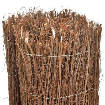 vidaXL Scherm 400x100 cm rijshout