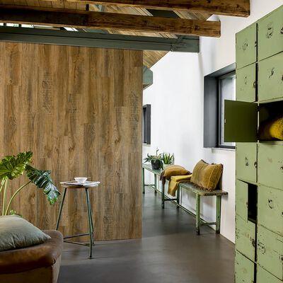 WallArt Planken hout-look gerecycled eikenhout vintagebruin