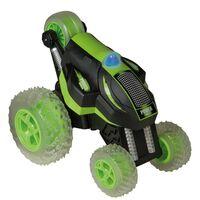 Happy People Speelgoedauto radiografisch Power Tumbler groen en zwart