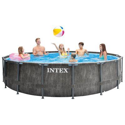 Intex Zwembadset Greywood Prism Frame Premium 457x122 cm