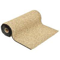 vidaXL Grindfolie 150x60 cm natuurlijke zandkleur