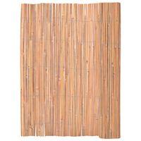 vidaXL Scherm 125x400 cm bamboe