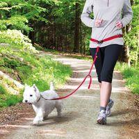 TRIXIE Hondenlijn met heupriem S/M rood