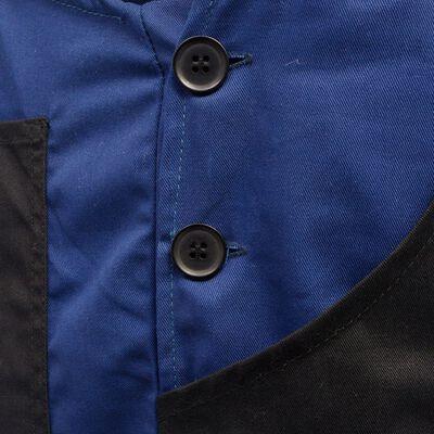 vidaXL Mannen tuinbroek maat XL blauw