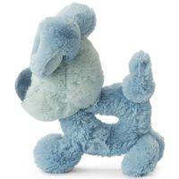 Woezel & Pip rammelaar Woezel 15 cm blauw