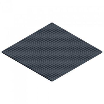 knikkerbaan basisplaat 26 x 26 cm zwart,