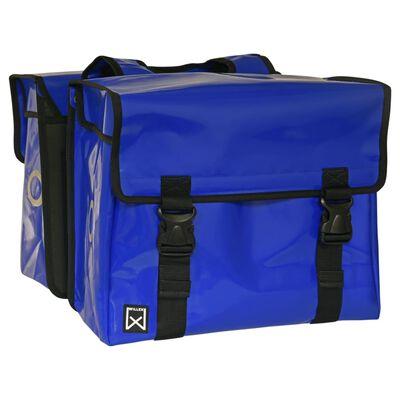 Willex Fietstas 40 L blauw