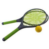 Jonotoys tennisset spinnenweb 21 cm groen