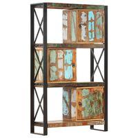 vidaXL Boekenkast 90x30x150 cm massief gerecycled hout