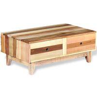vidaXL Salontafel massief gerecycled hout