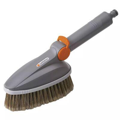 GARDENA Handwasborstel grijs and oranje 5574-20
