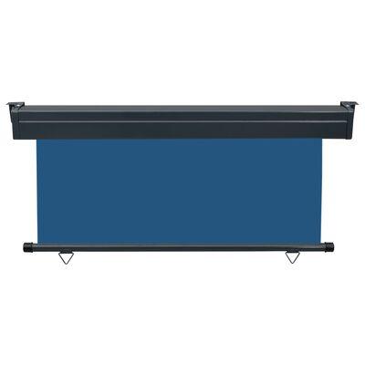 vidaXL Balkonscherm 170x250 cm blauw