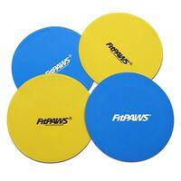 FitPAWS Targets 4 st geel en blauw