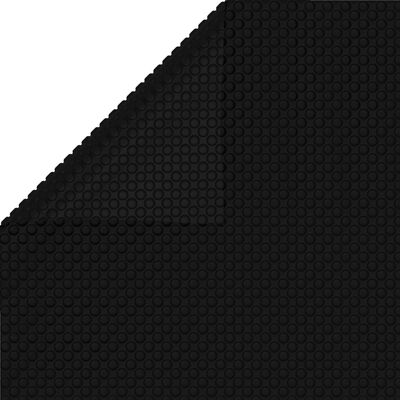 vidaXL Zwembadhoes 975x488 cm PE zwart
