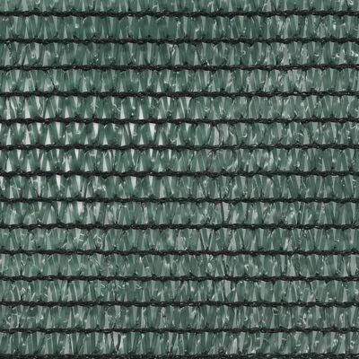 vidaXL Tennisscherm 1,4x100 m HDPE groen