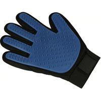 borstelhandschoen Best Friends 24 cm PP blauw one-size