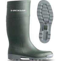 Tuinlaars Dunlop kniehoogte - groen - 43