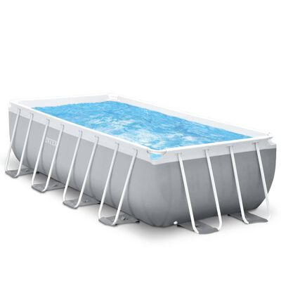 Intex Prism Frame Zwembadset rechthoekig 488x244x107 cm  26792GN