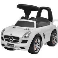 vidaXL Loopauto Mercedes Benz wit