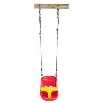 Swing King Schommelzitje voor baby rood/geel  2521050