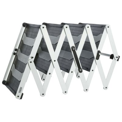 TRIXIE Dierentrap met 4 treden inklapbaar 160x70 cm aluminium