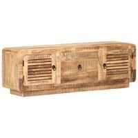 vidaXL Tv-meubel 120x30x40 cm ruw mangohout