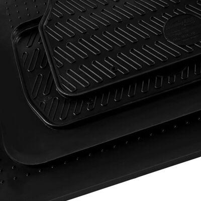 vidaXL Automattenset voor BMW 5 Series (E60) rubber 4-delig