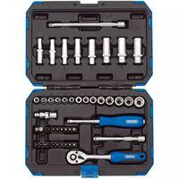 Draper Tools Metrische dopsleutel set 1/4'' 47-delig 16355