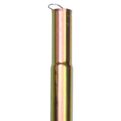 vidaXL Zonneschermpalen 2 st 200 cm gegalvaniseerd staal