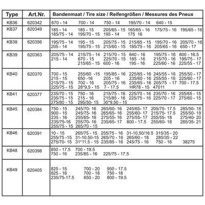 ProPlus Sneeuwkettingen 16 mm KB39 2 st