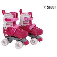 Street Rider Rolschaatsen verstelbaar 31-34 roze