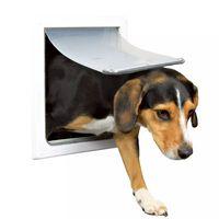 TRIXIE Hondenluik 2-zijdig maat S-M 30x36 cm Wit 3878