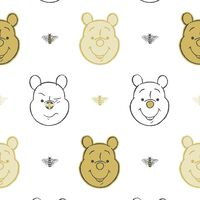 Kids at Home Behang Bee Winnie the Pooh wit