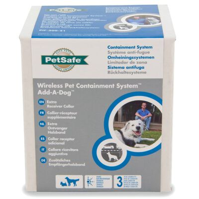 PetSafe Extra ontvanger draadloos huisdier inperkingssysteem 3,6+ kg 6084